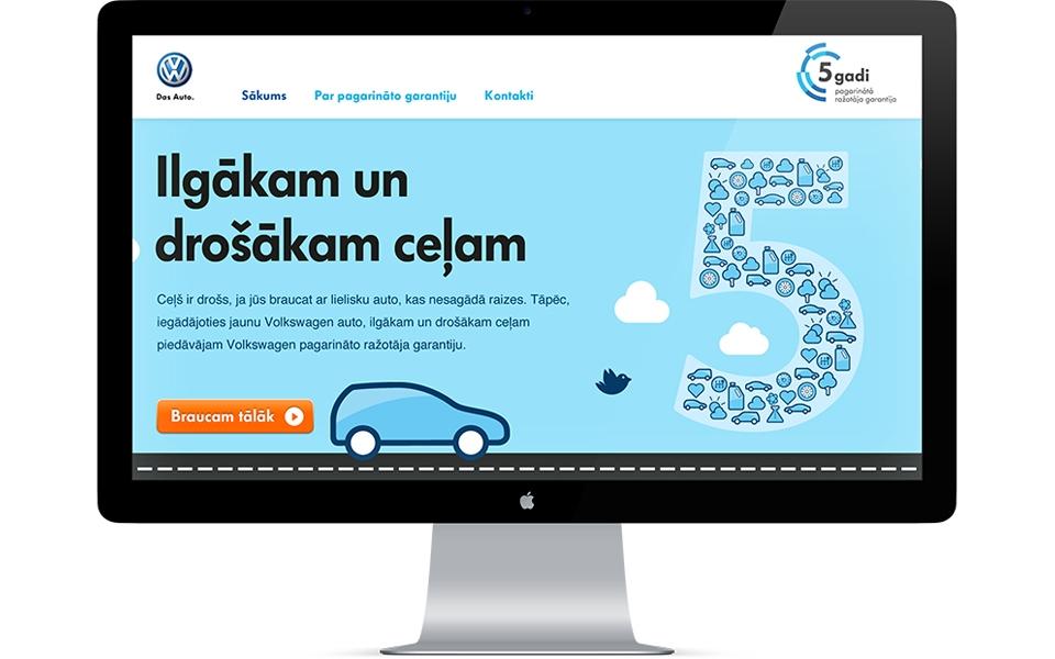 Volkswagen 5 gadu garantija