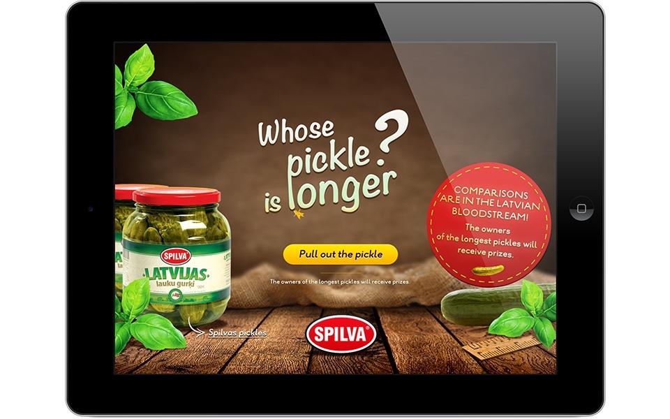 Whose pickle is longer?